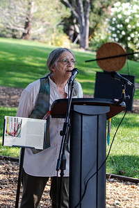 8  Judy Adams, of the Women's International League for Peace and Freedom, announces the beginning of the program