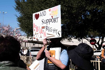 Stand for Asians Rally- San Mateo, CA