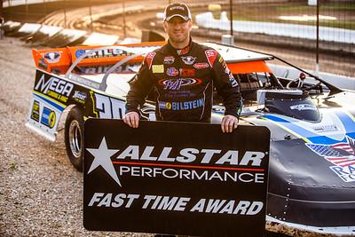 Allstar Performance Fast Time Award winner Tim McCreadie