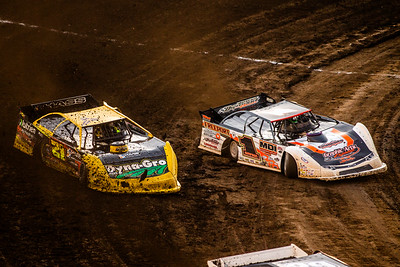Chad Simpson (1M) and Billy Moyer, Jr. (21JR)