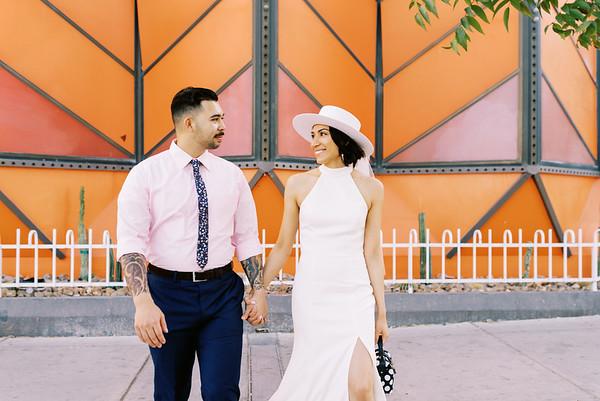 Vanessa & Brandon Downtown Las Vegas - Kristen Kay Photography-2217