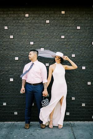 Vanessa & Brandon Downtown Las Vegas - Kristen Kay Photography-8845
