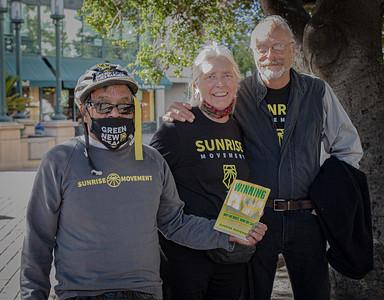 Representatives from the Sunrise Movement (Bruce Lescher)