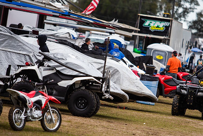 All-Tech Raceway pit area