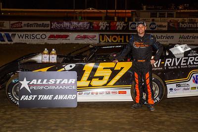 Allstar Performance Fast Time Award winner Mike Marlar