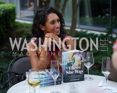 "Shilpi Malinowski. Photo by Tony Powell. Amy Argetsinger ""There She Was"" Book Party. Conrad Hotel. September 14, 2021"