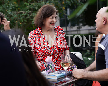 """Roxanne Roberts, David Hagedorn. Photo by Tony Powell. Amy Argetsinger """"There She Was"""" Book Party. Conrad Hotel. September 14, 2021"""