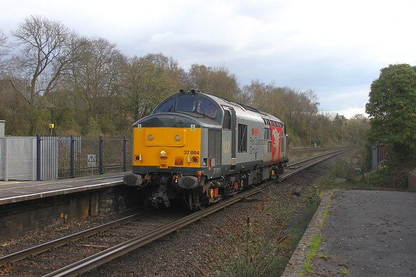 37884 Micheldever 15/04/21 0L52 Eastleigh to Colchester T.C.