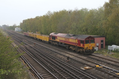 66200 Worting Junction 28/04/21 6Z47 Eastleigh to Didcot T.C.