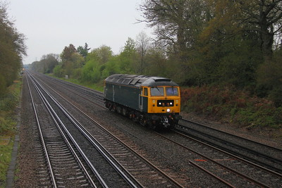 47727 Old Basing 28/04/21 0Z47 Eastleigh to Northampton Castle Yard