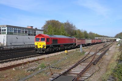 59204 Basingstoke 26/04/21 7V12 Woking to Merehead