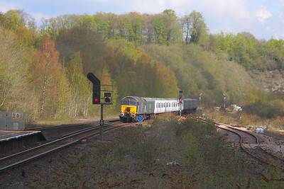 57312 Micheldever 29/04/21 5Q86 Ely Papworth Sidings to Eastleigh with 317699