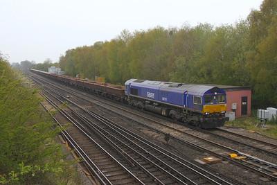 66791 Worting Junction 28/04/21 6Y48 Eastleigh to Hoo Junction