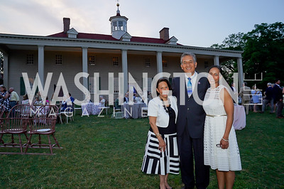 Gail West, Rep. Juan Vargas, Hilary West. Photo by Tony Powell. Becoming Mount Vernon. June 6, 2021