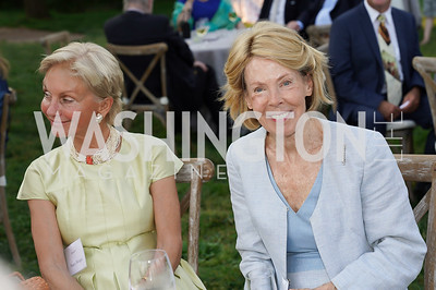 Nancy Morgan, Bobbie Brewster. Photo by Tony Powell. Becoming Mount Vernon. June 6, 2021