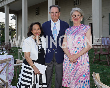 Gail West, Geoffrey Baker, Gay Barclay. Photo by Tony Powell. Becoming Mount Vernon. June 6, 2021