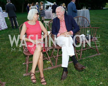 Ann and John Henry Crittenden. Photo by Tony Powell. Becoming Mount Vernon. June 6, 2021