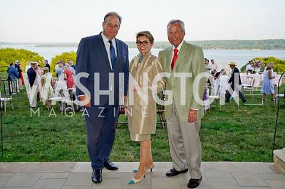 Doug Bradburn, Toni and John Gore. Photo by Tony Powell. Becoming Mount Vernon. June 6, 2021