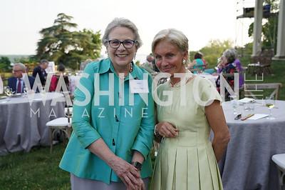 Valerie Burden, Nancy Morgan. Photo by Tony Powell. Becoming Mount Vernon. June 6, 2021