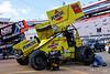 World of Outlaws Bristol Throwdown -World of Outlaws NOS Energy Drink Sprint Car Series - Bristol Motor Speedway - 22 Jac Haudenschild