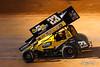 World of Outlaws Bristol Throwdown -World of Outlaws NOS Energy Drink Sprint Car Series - Bristol Motor Speedway - 23 Paul McMahan