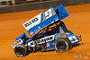 World of Outlaws Bristol Throwdown -World of Outlaws NOS Energy Drink Sprint Car Series - Bristol Motor Speedway - 9 James McFadden