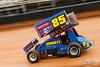 World of Outlaws Bristol Throwdown - World of Outlaws NOS Energy Drink Sprint Car Series - Bristol Motor Speedway - 85 Dustin Daggett