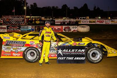 Allstar Performance Fast Time Award winner Devin Gilpin