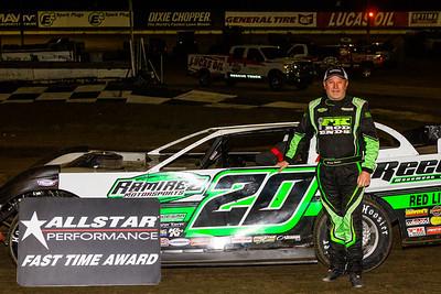 Allstar Performance Fast Time Award winner Jimmy Owens