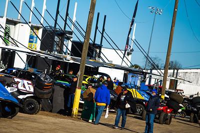 Bubba Raceway Park pit area