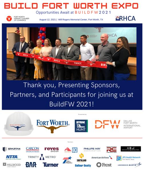 BUILDFW 2021 Banner logos