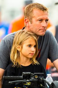 Tony Jackson, Jr. and daughter Atley