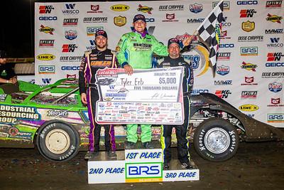 Brandon Overton (L), Tyler Erb (C) and Brian Shirley (R)
