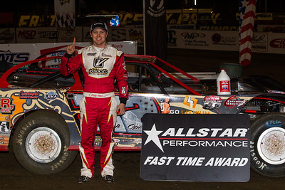 Allstar Performance Fast Time Award winner Bobby Pierce