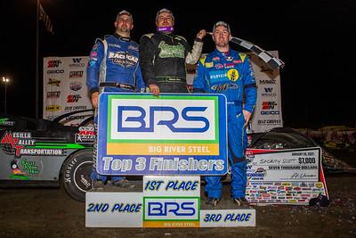 Kyle Bronson (L), Stormy Scott (C) and Tim McCreadie (R)