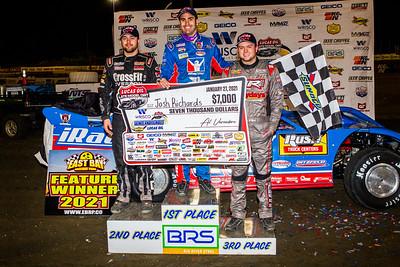 Brandon Overton (L), Josh Richards (C) and Hudson O'Neal (R)