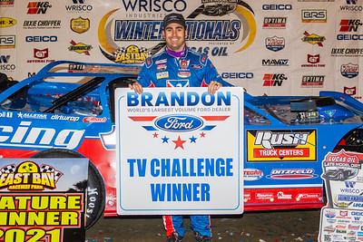 Brandon Ford TV Race Challenge winner Josh Richards