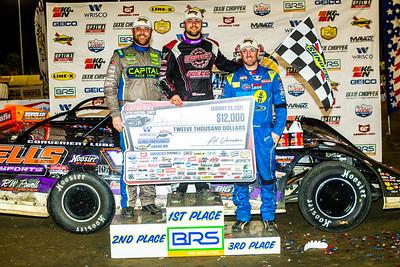 Tyler Bruening (L), Brandon Overton (C) and Tim McCreadie (R)