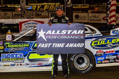Allstar Performance Fast Time Award winner Brian Shirley