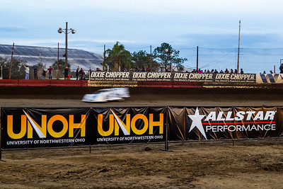 Dixie Chopper, UNOH and Allstar Performance banners