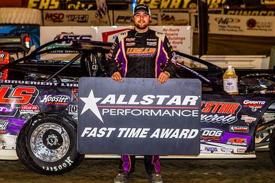 Allstar Performance Fast Time Award winner Brandon Overton