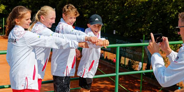 06 07 Team Austria making video - European junior Championships 14 years and under 2021