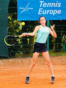 04 02a Tereza Valentova - European junior Championships 14 years and under 2021