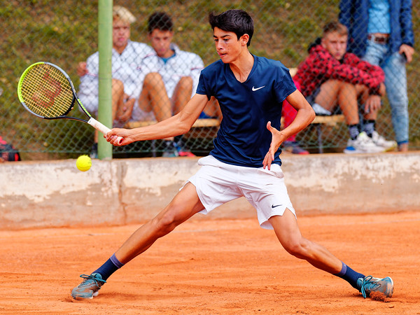 04 10a Federico Cina - European junior Championships 14 years and under 2021