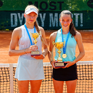 01 04 Finalists girls - European junior Championships 14 years and under 2021