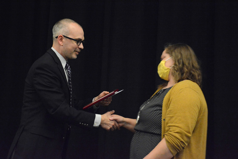 David and Nellie Reppart Award for Service:  Meghan Shruck<br /> photo by Steddon Sikes