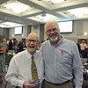 35 Years of Service: Dr. Clark Roush and Steddon Sikes<br /> photo by Catherine Seufferlein