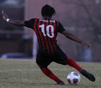 Men's soccer takes on Lander.