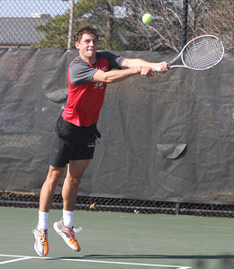 Men's Tennis takes on Queens University of Charlotte.