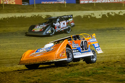 Kyle Bronson (40B) and Darrell Lanigan (K3)